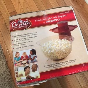 Other - Fountain Popcorn Air Popper by Presto